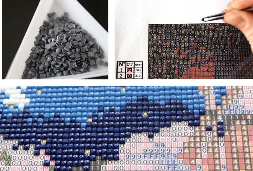 Алмазные мозаики своими руками