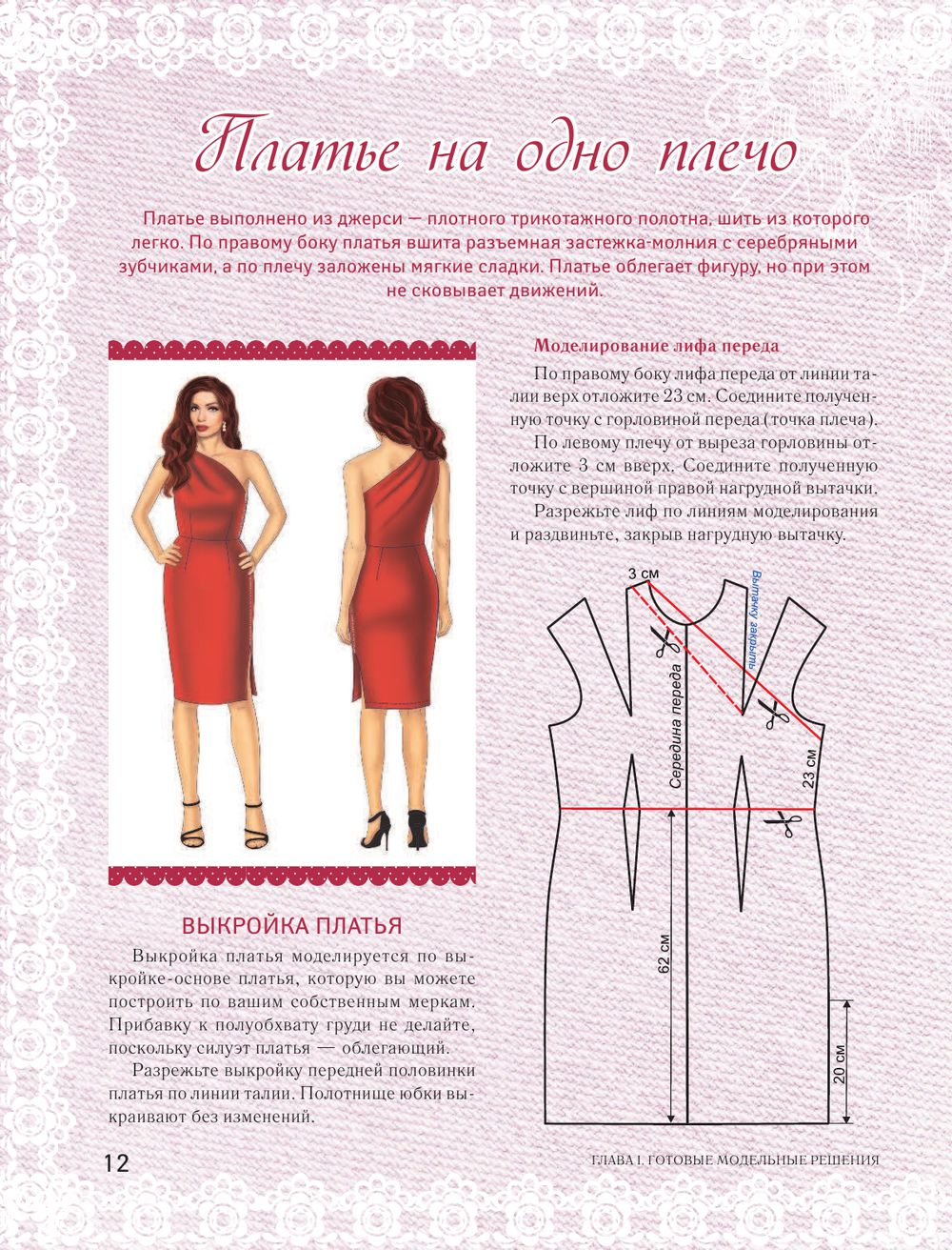 Как сшить себе платье коктейльное выкройка