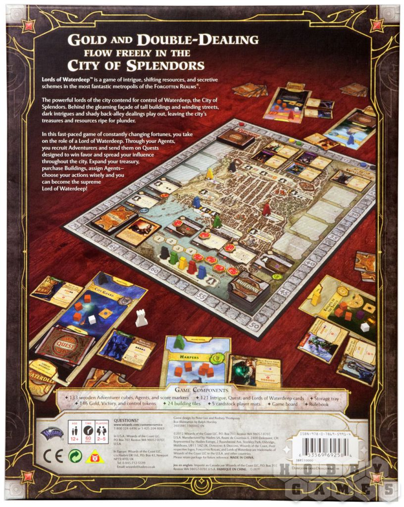 Lords of Waterdeep / Лорды Уотердипа (ENG)