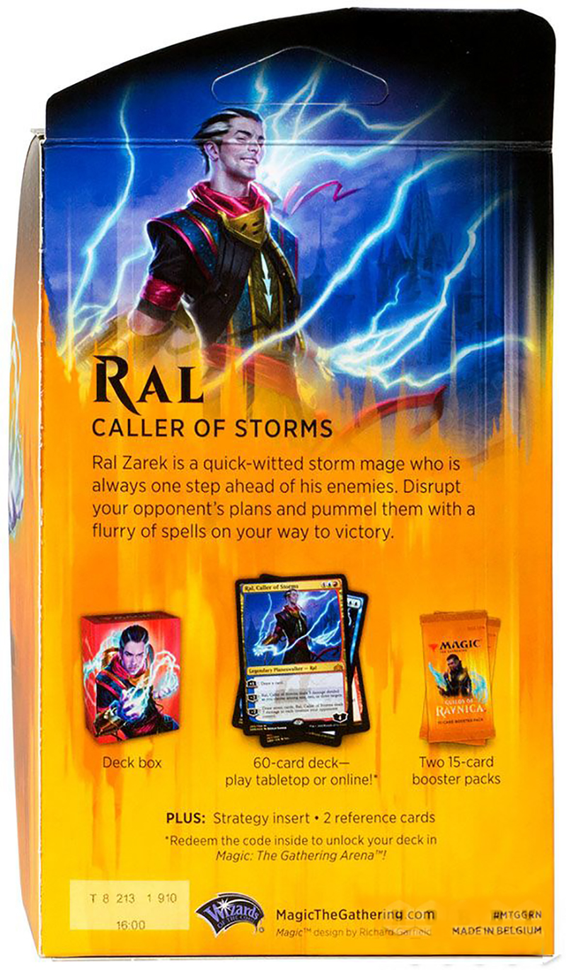 Magic: The Gathering. Guilds of Ravnica: Ral (ENG)